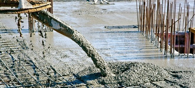 бетон видное