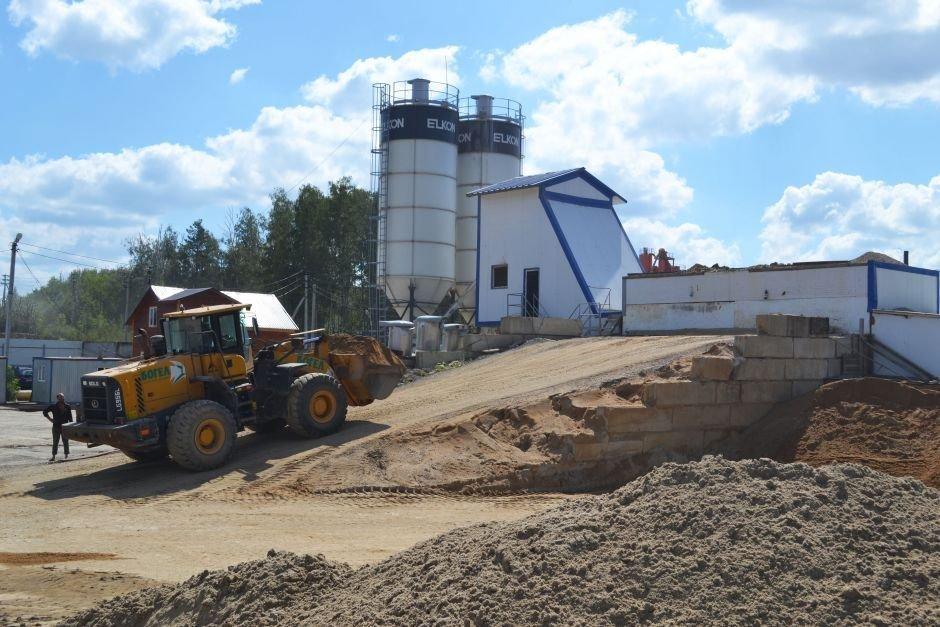 Производство бетона на РБУ в Домодедово